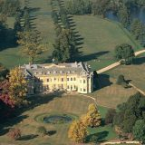 Hartwell House from the air