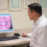 Dr. Tim Bradstock-Smith at work in The London Smile Clinic