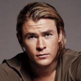 Long Locked Chris Hemsworth