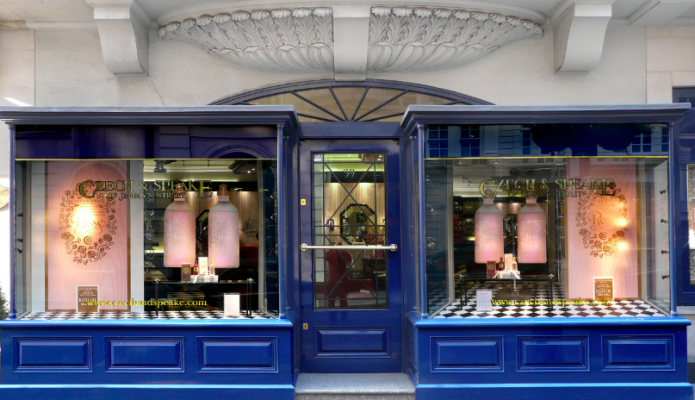 Czech and Speake Jermyn Street Store