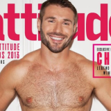 Ben On The Cover Of Attitude Magazine