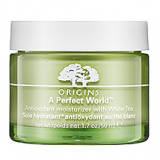 Origin A Perfect World Moisturiser, £36 for 50ml at www.origins.co.uk