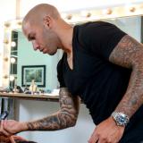 Hairstylist Daniel Johnson