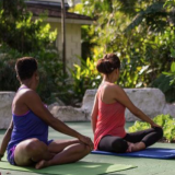 Outdoor Yoga At The Colony Club