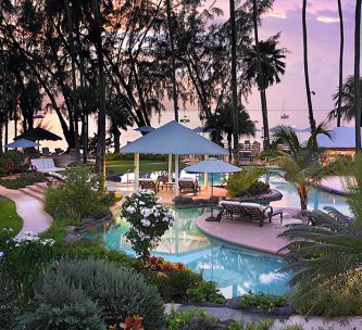 The Colony Club Gardens and Pool