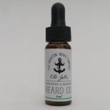 The Brighton Beard Company Old Joll's Black Pepper and Grapefruit Beard Oil: £6.95 for 10ml www.thebrightonbeardcompany.co.uk