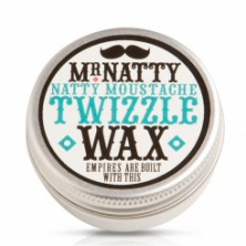 Mr Natty Moustache Twizzle Wax: £7.50 for 15ml www.mrnatty.com