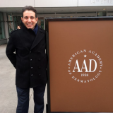 Dr Haus at the American Academy of Dermatology Conference