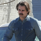 Colin on set of the new series of 'True Detective'