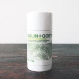 Malin and Goetz deodorant £18 for 73g at  www.malinandgoetz.com