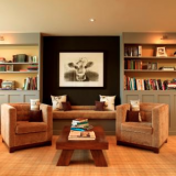The Library at the Feversham Arms