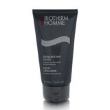Biotherm Homme Facial Exfoliator about £30 for 150ml at leading pharmacies