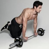 David Gandy Exercising