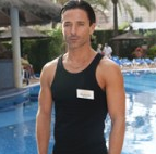 Jake as Matteo in 'Benidorm'