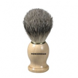 Tweezerman Deluxe Shaving Brush for Men