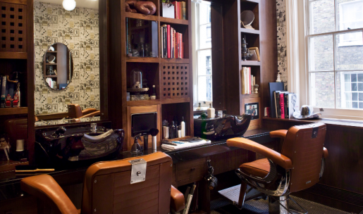 Dunhill Bourdon House Barber Station