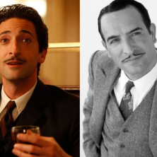 Adrien Brody and Jean Dujardin