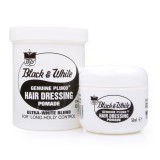 Black and White Hair Dressing Pomade $9.95 from www.pomades.com