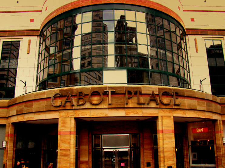 Cabot Place, Canary Wharf