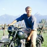 Steve McQueen in 'The Great Escape' 1963