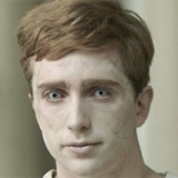 Luke as a rehabilitated zombie in BBC's 'In The Flesh'
