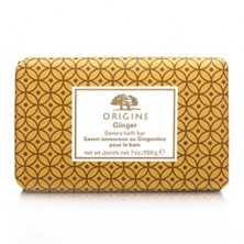 Origins Ginger Savory Bath Bar, £14.50 for 200g from www.origins.co.uk