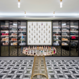 Penhaligon's Canary Wharf store, prices ranging from £50 to £150