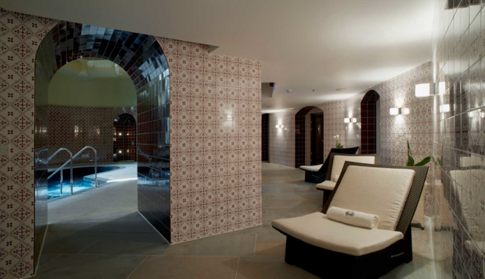 St Pancras Spa Interior